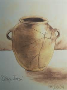 Potter and Clay Jar