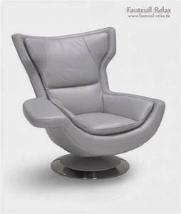 Fauteuil Relax Design Contemporain : fauteuil relaxant design maison design ~ Teatrodelosmanantiales.com Idées de Décoration