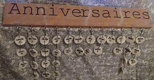 Fabriquer Un Calendrier Perpétuel : comment fabriquer un calendrier perp tuel des anniversaires faire calendrier anniversaire ~ Melissatoandfro.com Idées de Décoration