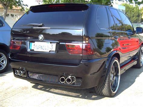 bmw  custom body work side view  bmw  suv