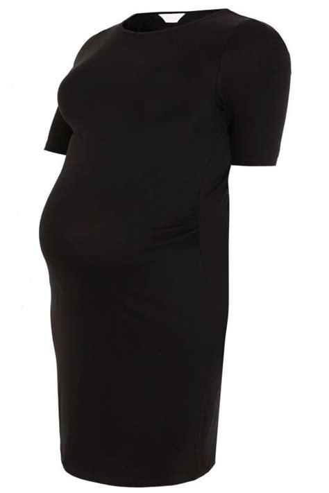 cover letter example it bump it up maternity black midi dress plus size 16 to 32 21022   BUMP IT UP MATERNITY Black Tube Midi Dress 158055 92a0