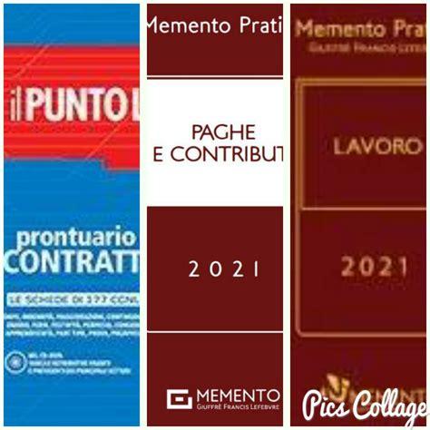 prontuario contratti 2021 punto lavoro