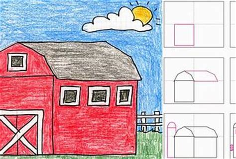 How To Draw A Barn by How To Draw A Barn Paperblog