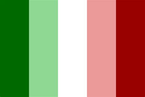 italy colors national flag italy color palette