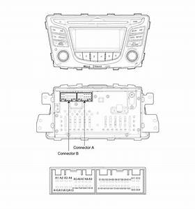 Hyundai Accent  Audio Unit  Components And Components