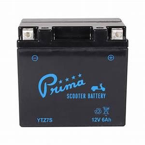 Prima Ytz7 Bs Battery  Honda Ruckus  U0026 Metropolitan