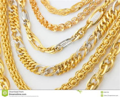 gold chain photo gold chain stock vector stock