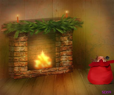 christmas digital backgrounds wallpapers