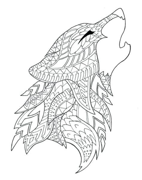 big bad wolf coloring page  getcoloringscom