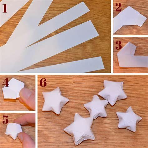 weihnachtsdeko sterne falten aus papier ernstings