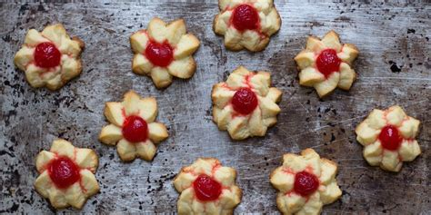 Italian cookies are traditionally flavored with anise, but no one in my family likes the taste of black licorice, so i used use pastel sprinkles, they bleed color less. Cherry-Almond Star Cookies   Best christmas cookie recipe, Italian almond cookies, Holiday ...