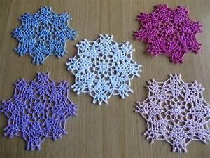 Set De Table Au Crochet : napperon crochet rond daniella en coton textiles et tapis par logique napperon crochet ~ Melissatoandfro.com Idées de Décoration
