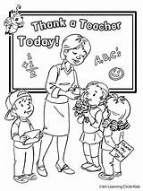 Teacher Coloring Teachers Drawing Pages Appreciation Card Awesome Printable Happy Printables Sheets Noodle sketch template