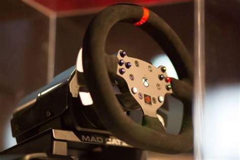 Volante Catz Xbox One Prezzo Catz Mostra Il Volante Per I Giochi Di Guida Su Xbox