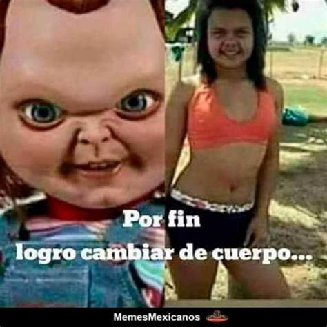 Memes De Chucky - por fin logr 243 cambiar de cuerpo chucky y se convirtio en esta chica o muchacha en bikini memes