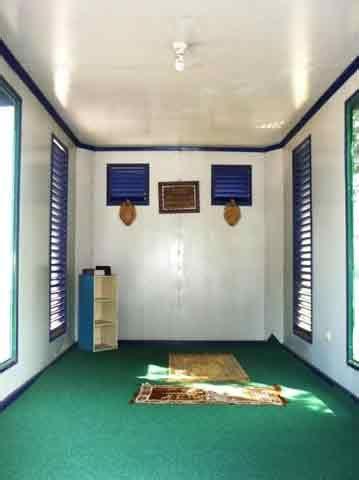 berikut  desain mushola mungil  rumah gambar