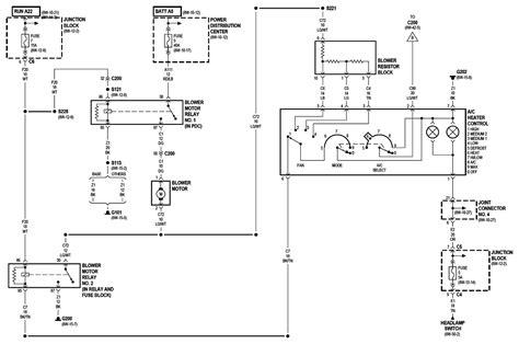 2000 durango blower wiring diagram wiring diagrams image