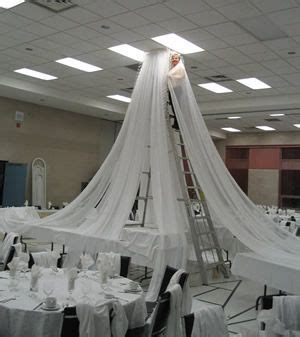 wedding reception decorations best 25 ceiling draping wedding ideas on