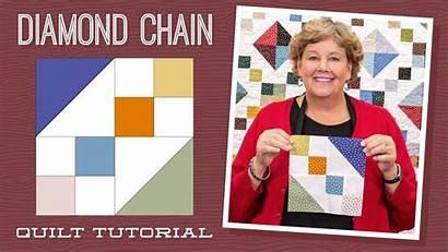 Quilt Jenny Doan Diamond Tutorial Patterns Chain