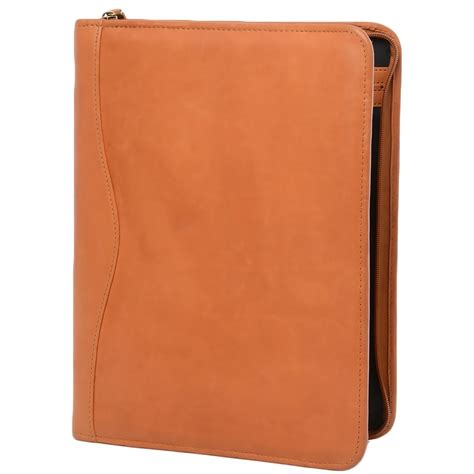 leather document holder tancol  sleeve leather