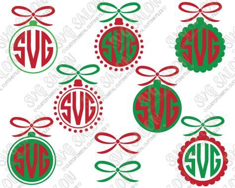 initial ornaments monograms ornament circle monogram cut file set in svg eps dxf jpeg png