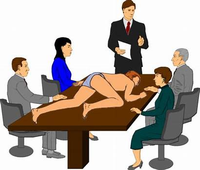Meeting Staff Clipart Clip Office Business Cliparts