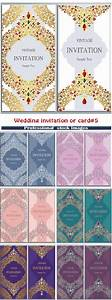 wedding invitation or card with abstract background 5 With wedding invitation picture poses