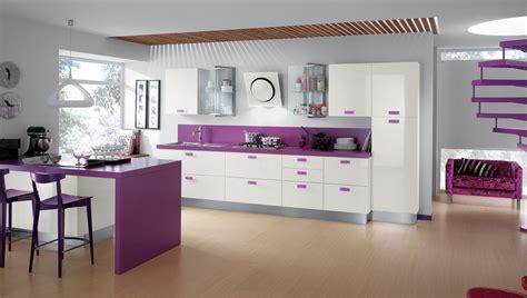 light purple kitchen cocinas modernas llenas de colorido scavolini ii 3760