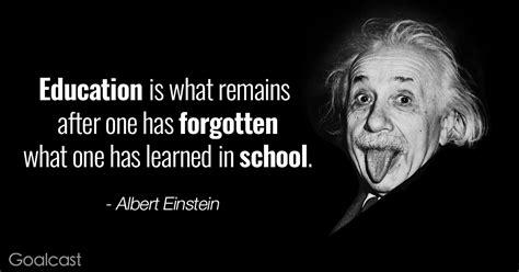 albert einstein quotes education goalcast