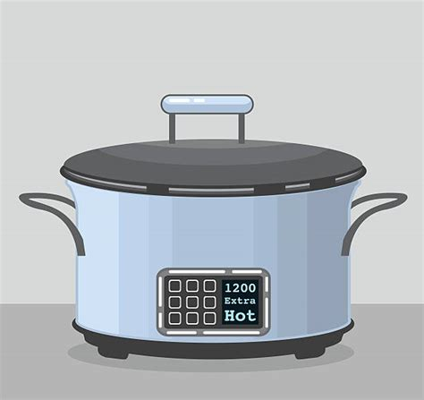 crock pot illustrations royalty  vector graphics