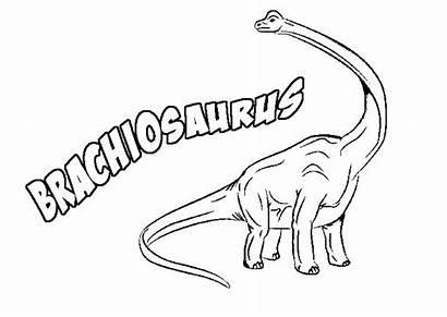 Brachiosaurus Coloring Pages Dinosaur Printable Dinosaurs Argentinosaurus