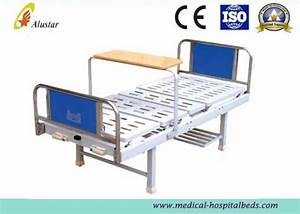 Stainless Steel Medical Hospital Beds Without Guardrail