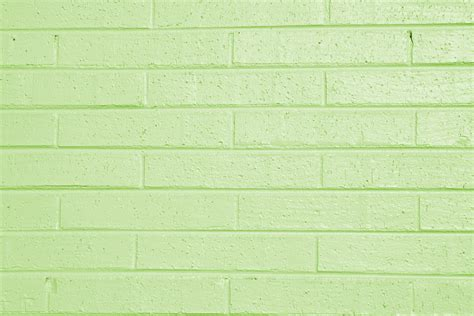 lime green painted brick wall texture picture free