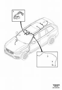 Volvo Xc90 Wiring Harness  Cable Harness Roof  Ch