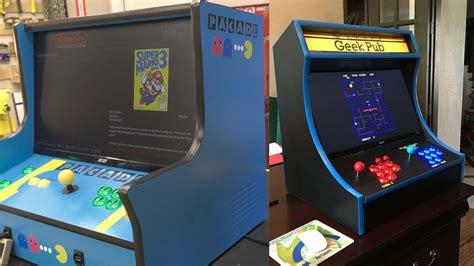 bartop arcade  plan bundle  geek pub
