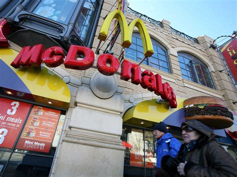 Mcdonald's Changes In The Past Year  Business Insider