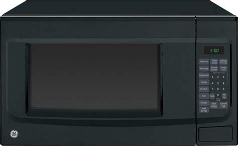 jesdsbb ge  cu ft countertop microwave oven black