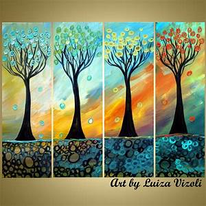 Modern Tree Abstract Art For Sale Original Colorful ...