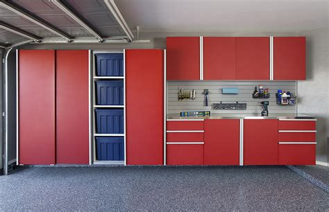 red and black garage cabinets garage cabinets storage systems organizers direct