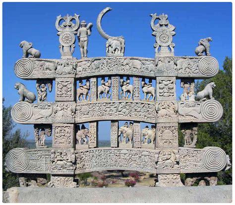 Buddhist Architecture: North Gateway, Stupa 1, Sanchi
