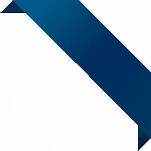 CORNER RIBBON02 NAVY BLUE Vector Data | SVG(VECTOR):Public ...