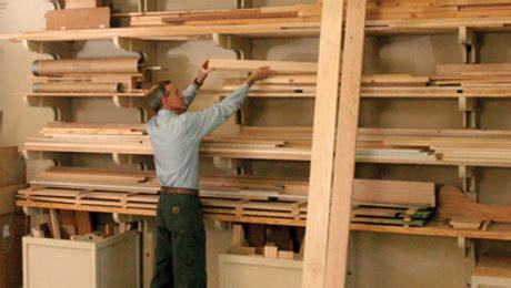 lumber storage