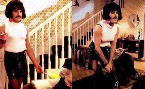 Freddie Mercury As Bet Lynch From