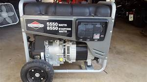 Briggs And Stratton Generator 5550 Watts 8550 Starting