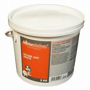 Galet De Chlore : chlore lent galets 5kg misterpiscines ~ Edinachiropracticcenter.com Idées de Décoration