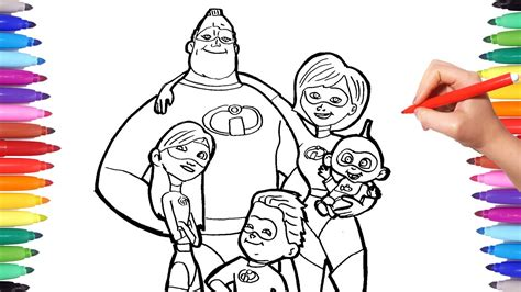incredibles  coloring pages coloring  incredible