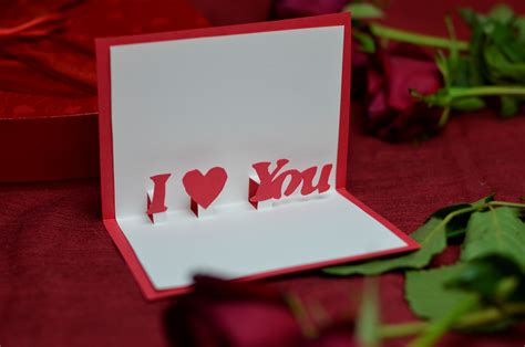 top  ideas  valentines day cards creative pop  cards