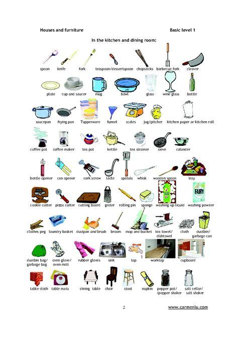 cuisiner traduction anglais pièces de la maison en anglais