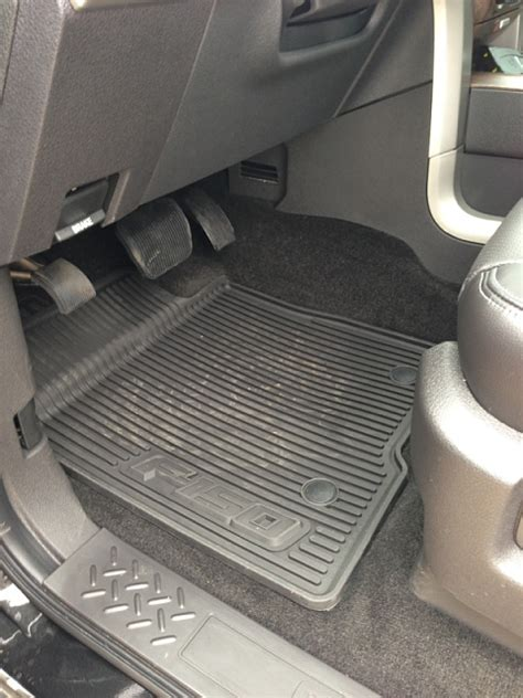 weathertech floor mats vs oem oem rubber mats vs weathertech vs husky page 6 ford f150 forum community of ford truck fans