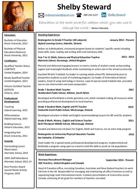 Physical Education Resume Exle by Physical Education Resume Search Misc